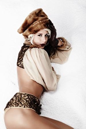 Winter queen Stock Photo - 11287530
