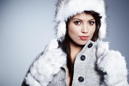 Beautiful Winter Woman Stock Photo - 11938523
