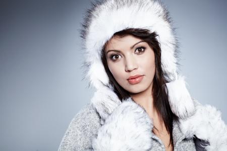 Beautiful Winter Woman Stock Photo - 11938517