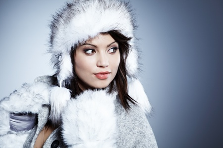 Beautiful Winter Woman Stock Photo - 11938518
