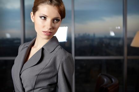 elegant businesswoman in a office interior Stock Photo - 12350731