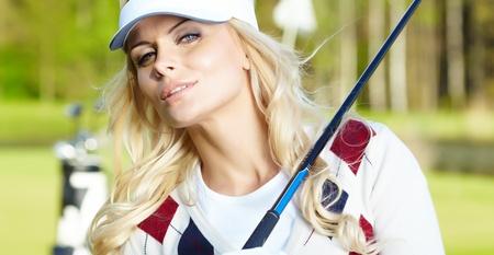 Womans golf Stock Photo - 12433563