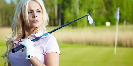 woman's: Womans golf