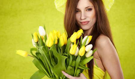 Spring woman  photo