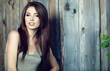 beautifull woman: young beautifull woman outdoor. summer time.