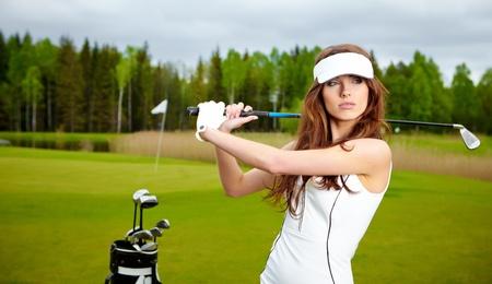 Womans Golf Stock Photo - 13009862