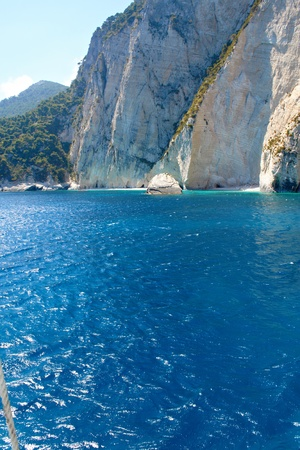 자킨 토스 섬 - 그리스 스톡 콘텐츠