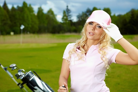 teen golf: Golf womans