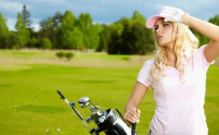 Womans Golf  photo