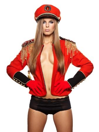 gaga: Glamour sexy woman Stock Photo
