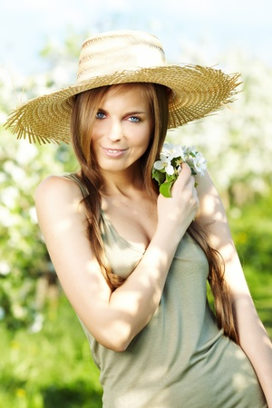 Sexy summer girl photo