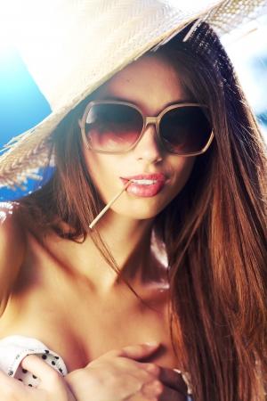 Summer girl  photo