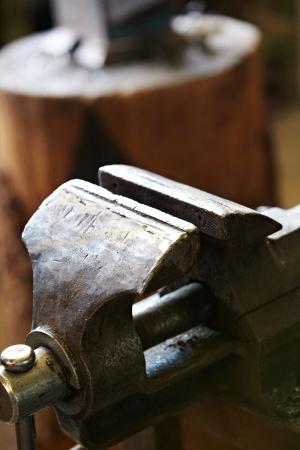 farriery: blacksmiths tools