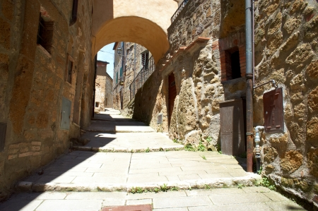 typical italian narrow street Stock Photo - 14220602