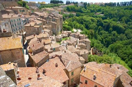 Italian city rooftops photo
