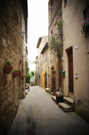 backstreet: small backstreet in an italian village
