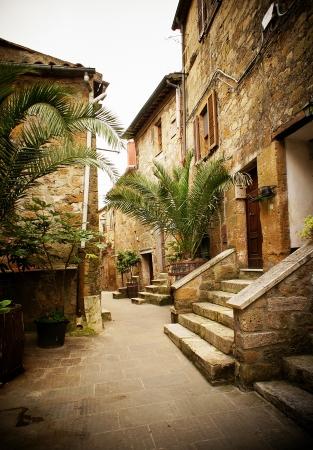 cute italian street  photo