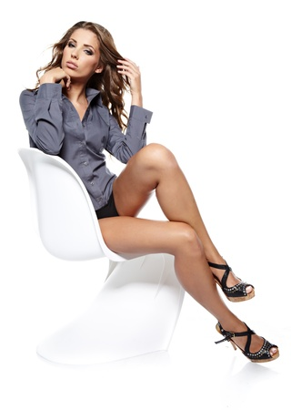Sexy businesswoman photo