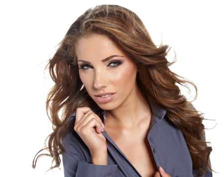 Sexy businesswoman photo