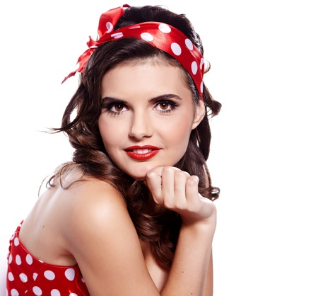 50s women: Pin-up girl  American style