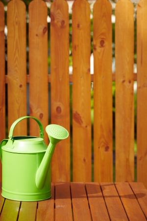 Garden tools on the wooden background Stock Photo - 15423849