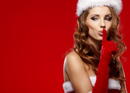 christmas woman  Stock Photo - 16490766
