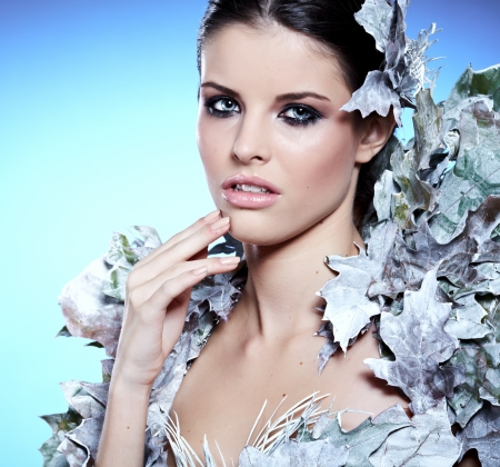 maquillaje de fantasia: Winter Girl in Escudo fantasía de lujo
