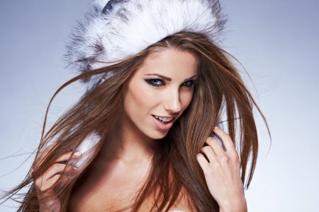 Beautiful Winter Woman  photo