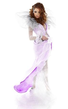 Fantasy winter queen Stock Photo - 17130176