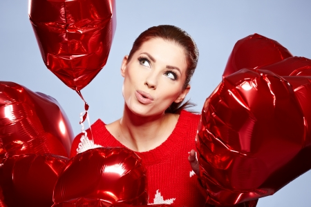 The Valentines day celebrities  Stock Photo - 17255313