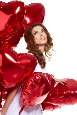 The Valentines day celebrities  Stock Photo - 17255316
