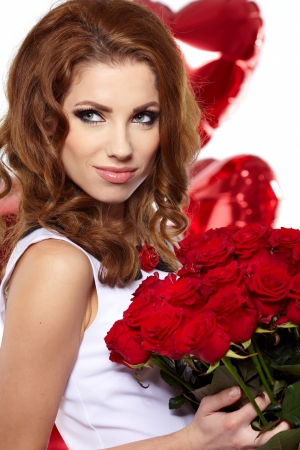 The Valentines day celebrities  Stock Photo - 17237303