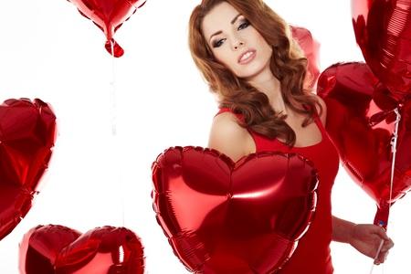 The Valentines day celebrities  Stock Photo - 17255306
