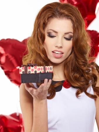 women s fashion: Valentine Stock Photo