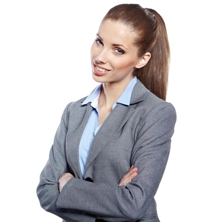 Young businesswoman Stock Photo - 17751347