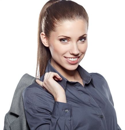 Young businesswoman Stock Photo - 17751340