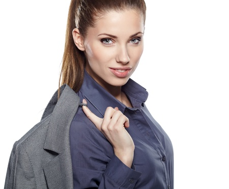 Young businesswoman Stock Photo - 17751342