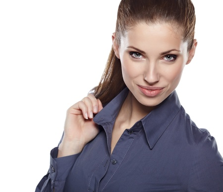 Young businesswoman Stock Photo - 17751324