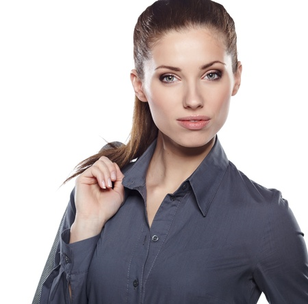 Young businesswoman Stock Photo - 17751335