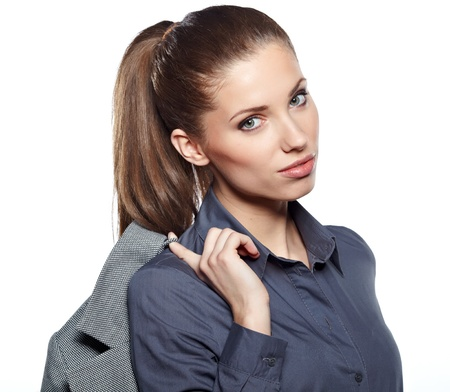 Young businesswoman Stock Photo - 17791146