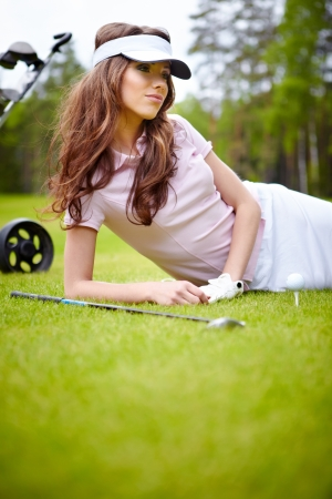 Womans Golf  photo