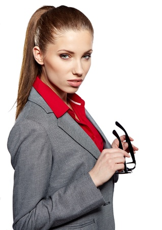 Young businesswoman Stock Photo - 18569384