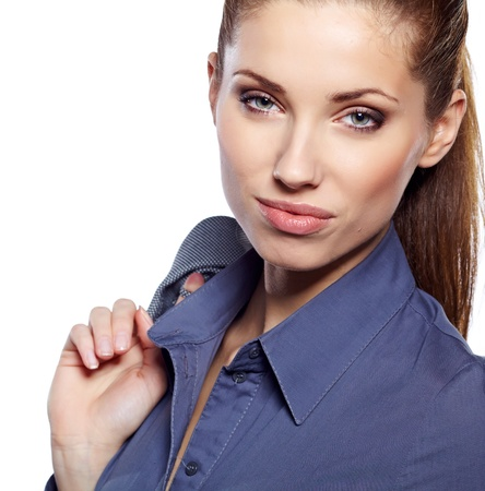 Young businesswoman Stock Photo - 18569378