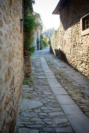 nook:  italian old  street . Tuscany