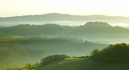 agriturismo: Countryside, San Quirico d´Orcia, Tuscany, Italy
