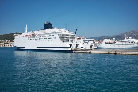 ferryboat: Transportation On The Sea - Large ferryboat