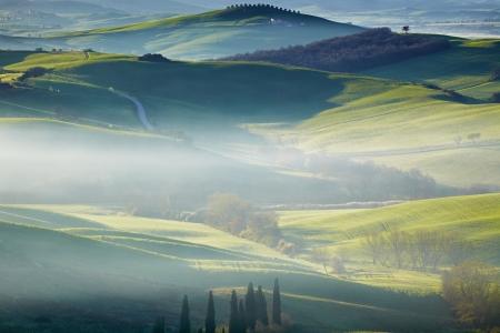 agriturismo: Tuscany, Italy - Landscape  Stock Photo