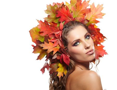 Autumn Woman  Beautiful makeup