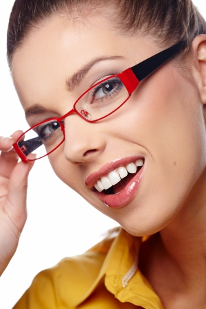 business woman in glasses  Stock Photo - 23771161