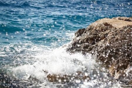 adriatic: Croatia - beautiful Mediterranean coast , Murter island beach - Adriatic Sea